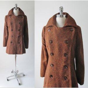 Vintage 60's MOD Pea Coat M